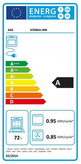 AEG elektrický sporák 47036IU-MN