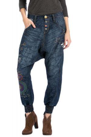 Desigual dámské kalhoty 26 modrá - Diskuze  b1d465b0a42