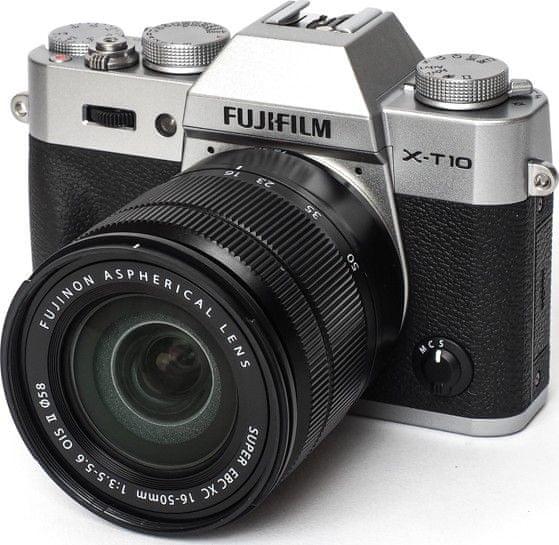 FujiFilm X-T10 + XC 16-50 Silver