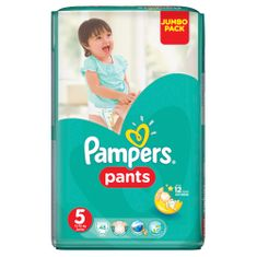 Pampers ActivePants 5 Junior Jumbo Pack 48 ks