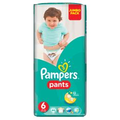 Pampers ActivePants 6 ExtraLarge Jumbo Pack 44 ks