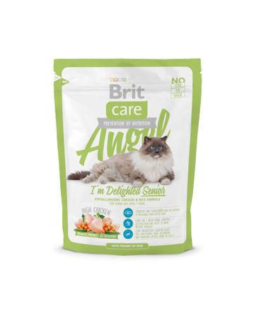 Brit Care Cat Angel I´m Delighted Senior hrana za starejše mačke, 400g