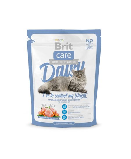 Brit Care Cat Daisy I´ve to control my Weight hrana za mačke s prekomerno težo, 400g
