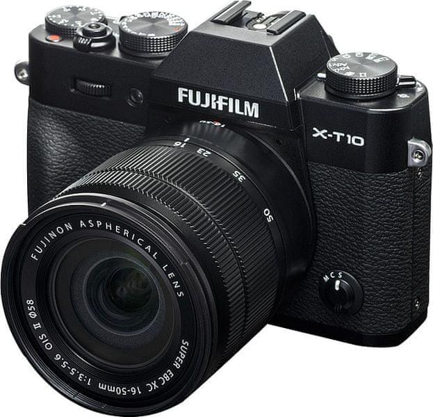 FujiFilm X-T10 + XC 16-50 Black