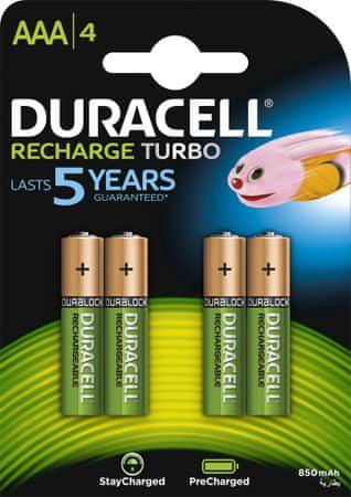 Duracell akumulatory HR03/AAA/800 mAh (B4)