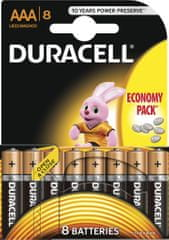 Duracell Basic, AAA, 8ks