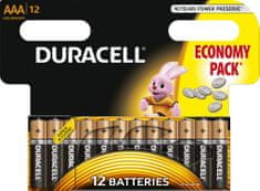 Duracell Basic, AAA, 12ks