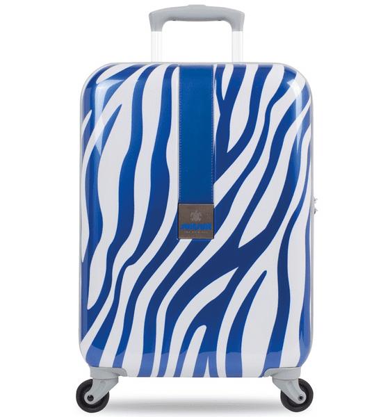 SuitSuit Kabinové zavazadlo TR-1218/3-50 - African Blue Zebra