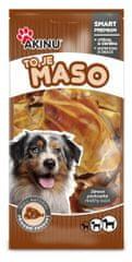 Akinu gryzak dla psa Multipack - Uszy wieprzowe - 10 szt.