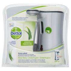Dettol Érintés nélküli szappanadagoló + Aloe Vera Szappan, 250 ml