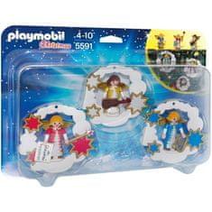 Playmobil 5591 Angyalkórus Karácsonyfa díszek