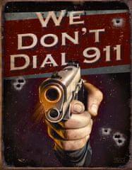 Postershop Plechová tabuľa Colt 911