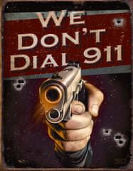 Postershop Metalowa tabliczka Colt 911