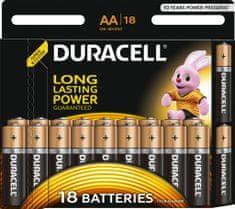 Duracell AA Alkáli elem, 18db