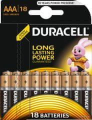 Duracell AAA Alkáli elem, 18db