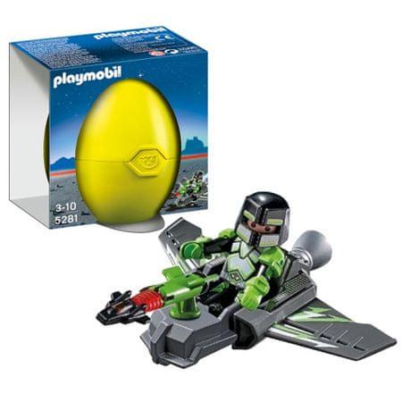 Playmobil 5281 Tojás- Gengszter Robo szárnyas siklóján