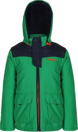 Regatta kurtka zimowa Zipper Highland Green/Navy 11 – 12