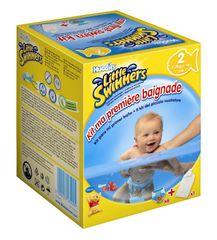 Huggies Little Swimmers XS 6 szt + ręcznik kąpielowy z kapturem