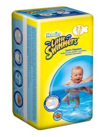 Huggies plavalne plenice Little Swimmers 3-8 kg, 12 kos