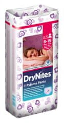 Huggies Pieluchy Dry Nites Large - Girls 9 szt.