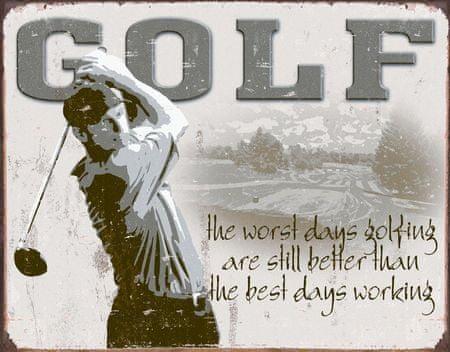 Postershop okrasna tabla Golf 40 x 30 cm