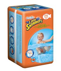 Huggies Pieluchy Little Swimmers L 10 szt od 12-18 kg