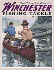 Postershop Plechová cedule Winchester (Na řece)