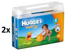 Huggies Pieluchy Super Dry Double Pack Junior 5 (11-19 kg) - 92 szt