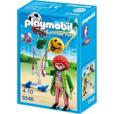 """Playmobil Sprzedawca balonów """"Smileyworld"""" 5546"""