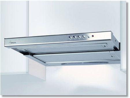 Akpo okap szafkowy WK-7 Light Plus 50 Inox