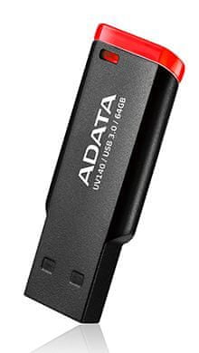 A-Data UV140 USB ključ, 16 GB, USB 3.0, rdeč