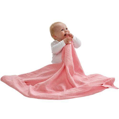 BabyDan Háčkovaná bavlněná deka New