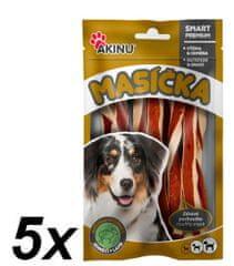 Akinu przysmak dla psa Jagnięcy Twister - 5 x 75g
