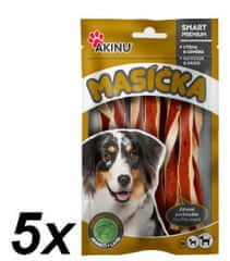 Akinu Jahňací twister pre psov 5 x 75 g