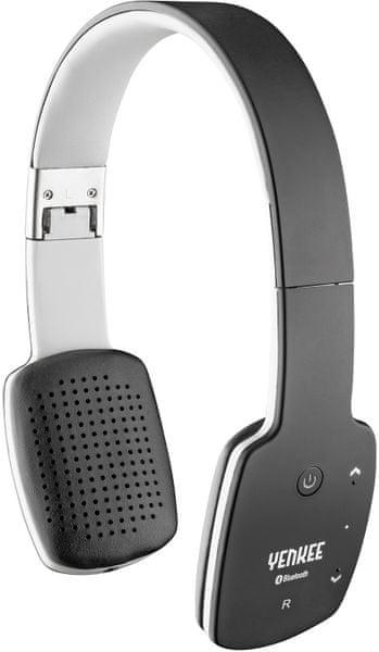 Yenkee Bezdrátová Bluetooth sluchátka (YHP 15BTBK) černá