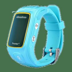 Abardeen náramkový GPS lokátor pro děti KT01S, modrý