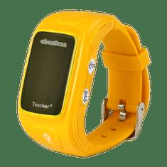 Abardeen náramkový GPS lokátor pro děti KT01S, oranžový