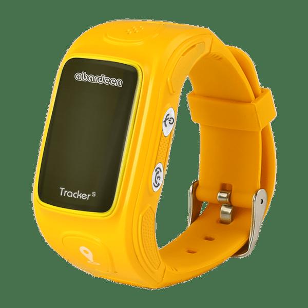 Abardeen náramkový GPS lokátor pro děti KT01S, oranžový - II. jakost
