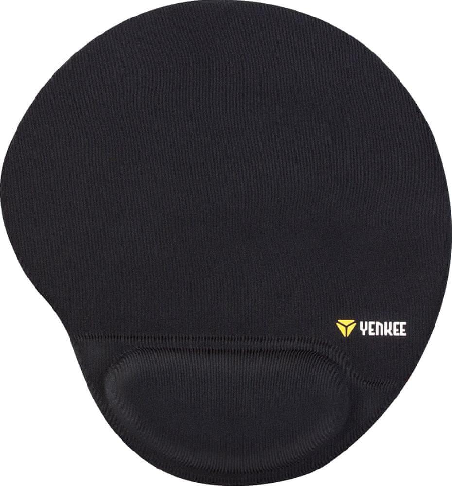 Yenkee Gelová podložka pod myš (YPM 4000BK)