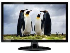HANNSPREE LCD LED monitor HE247DPB, TN, FHD, 59,94 cm (23,6''), črn
