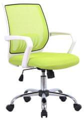 Pisarniški stol Livada, zelen