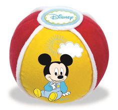 Clementoni Mickey - mäkká lopta so zvukovými efektmi