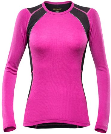 Devold Energy Woman Shirt Fuchsia XL