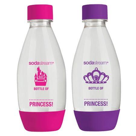 Sodastream Princess palack rózsaszín/lila 0,5l
