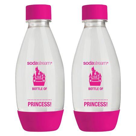 Sodastream Princess palack rózsaszín 0,5l