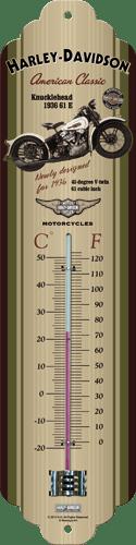 Postershop Teploměr Harley-Davison American Classic