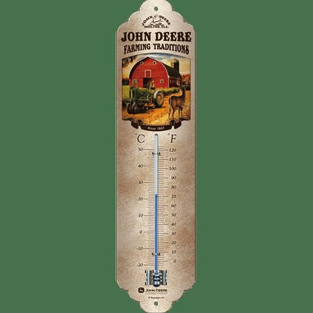 Postershop Teploměr John Deere (Farming traditions)