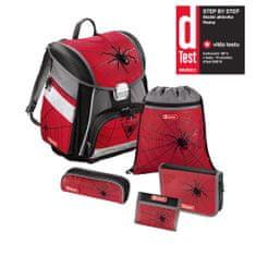 dcfa902e602 Step by Step Školní aktovka - set Červený pavouk