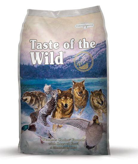 Taste of the Wild hrana za pse Wetlands Wild Fowl, 2kg