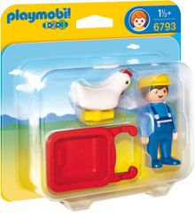 Playmobil 6793 Tyúkocska a talicskában